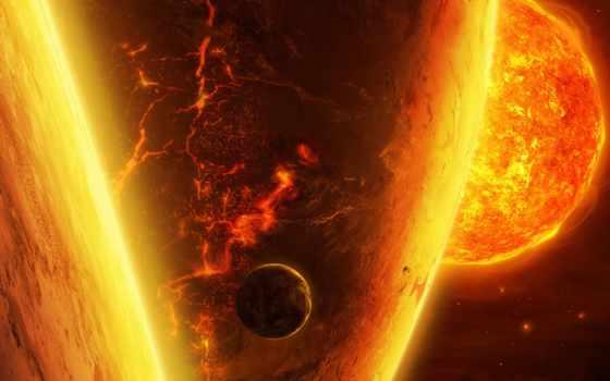 cosmos, планеты, прикольные, спутник, art, star, sun, land, qauz, planet,