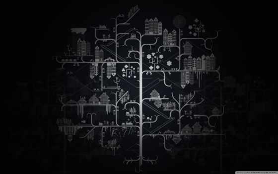 графика, рисунок, дома, дерево, город, наши, pinterest, тегам, егерь,