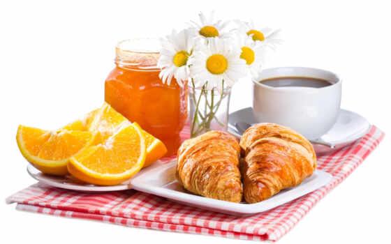 ромашка, оранжевый, выпечка, coffee, kruassannyi, мед, еда, rub