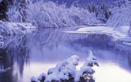 вышивки, зима