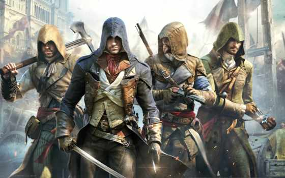 creed, assassin, unity