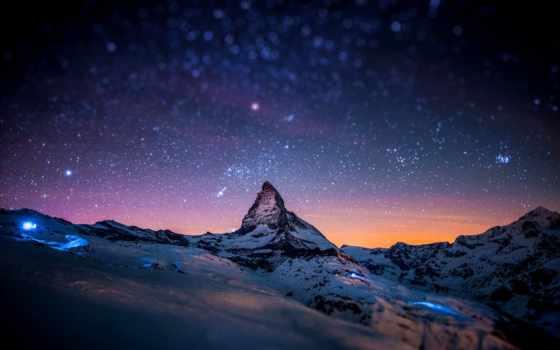 маттерхорн, швейцария, гора