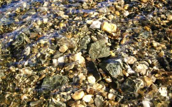 free, камни, прозрачной, природа, burlywood, darkgray, reki,