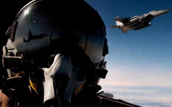 pilot, fighter, helmet, aircraft,