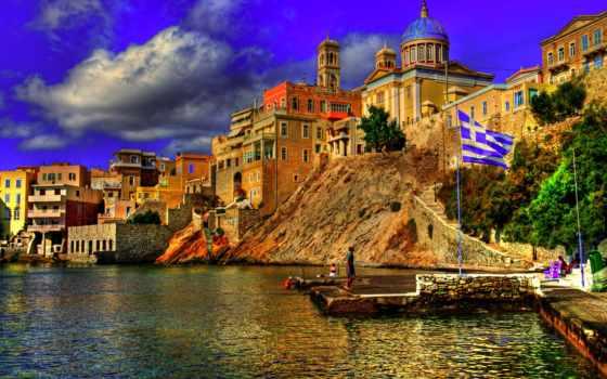 greece, море, взгляд
