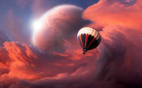 мяч, air, небо