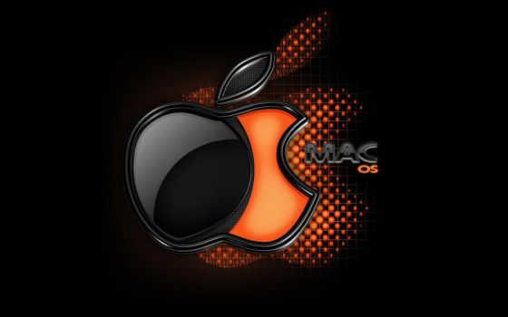 macos лого черно-оранжевое-3