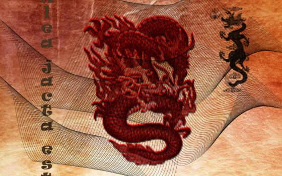 дракон, китаянка, desktop
