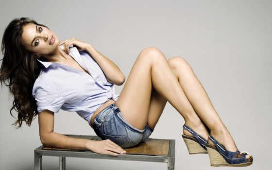 обуви, irina, шейк, рекламе, мар, модный, изображение, туфли, that,
