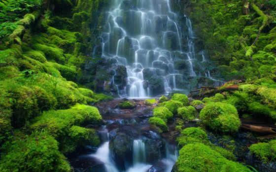 водопад, мох, камни, природа, htc, каскад, водопады, нояб,