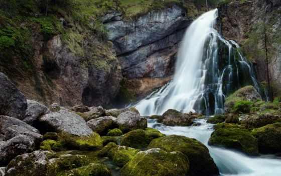 водопад, водопады, природа, gollinger, красивые, small,