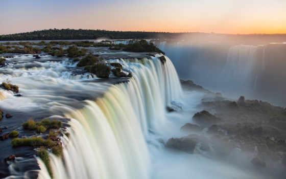 игуасу, falls, микс, большая, водопады, best, pack, подборка,