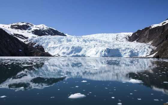 аляска, glacier, plochu, природа, park, por,