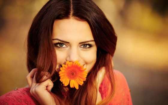 девушка, цветком, красивые, цветами, рту, devushki, девушек, вконтакте, смотреть, women,