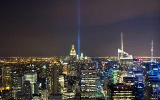 ночь, new, york, building, империя, картинка, город, state, usa, ny, сентябрь,