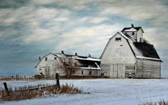 ферма, wallpaperz, house, под, старину, mix, стиль, мар,