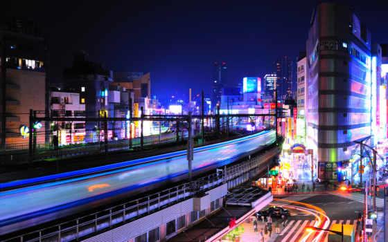 tokio, городские, japanese, пейзажи -, tokyo, nillire, здания, ночь,
