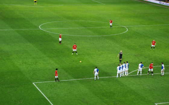 штрафной, спорт, удар, мю, роналду, футбол, ronaldo, manchester, united, kick, free,