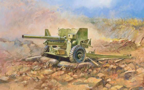 пушка, британская, противотанковая, фунтовая, zvezda, мк, пт, мм, модель, звезда,