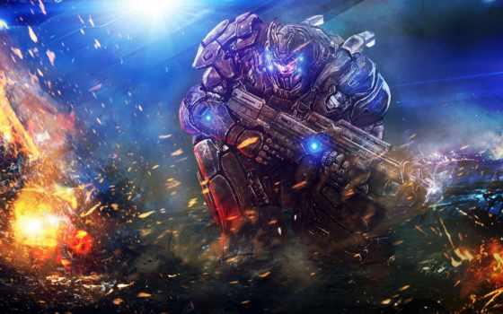 iron, marines, marine, kingdom, rush, космос, desktop, категория, themes,
