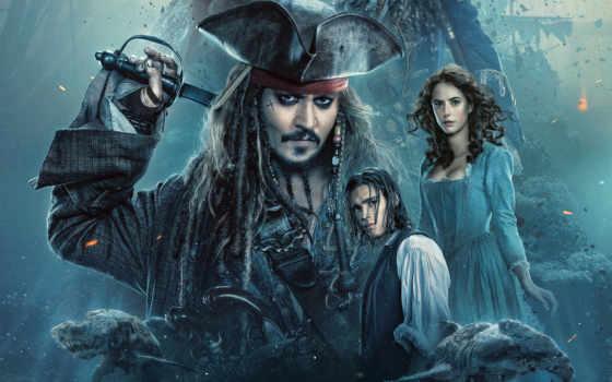 моря, карибского, мертвецы, пираты, рассказывают, сказки, trailer, blu, ray, фильмы,