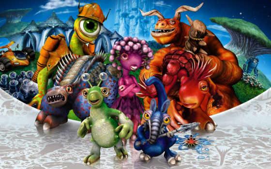 spore, game, video, природа, animal, характер