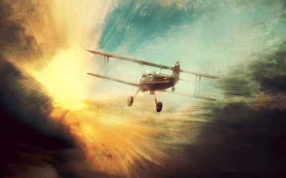 обои, фото, самолёт, полет, самолеты, самолета,