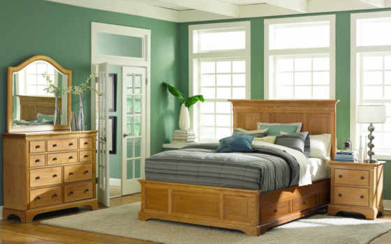 ashby, park, american, drew, panel, bedroom, furniture, collection, bed,