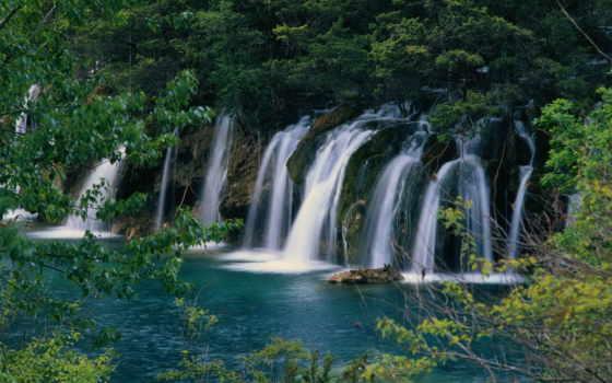 водопад, фотообои, самые, водопады, удалённое, everything,