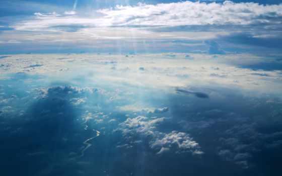 небо, blue, oblaka, река, costa, celeste, иркутск, загружено,