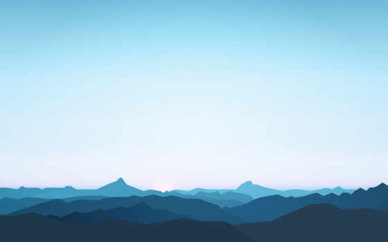 mountains, minimal, resolutions, первую, пейзажи -,
