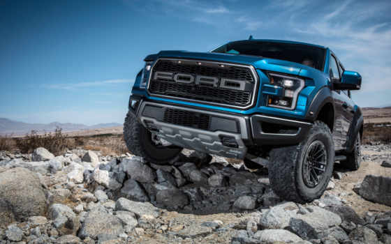 ford, raptor, supercrew, off, дорога, спереди, shocks, gets,