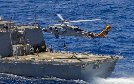 море, hawk, mh, вертолет, free,