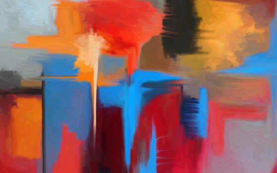 абстракция, картина