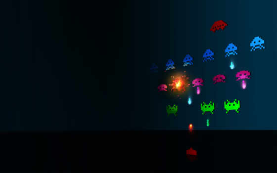 space, invaders, bit, minimalism, games, pictures, invader, retro, bachural,