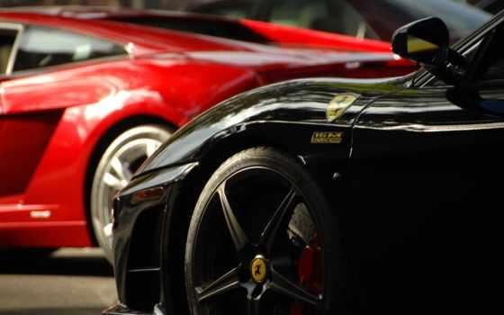 авто, red, спортивные