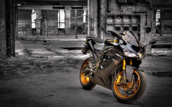 мотоцикл, просмотреть, байк