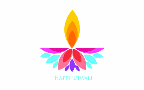 вектор, diwali, happy
