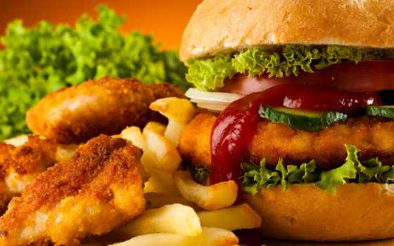еда, картофель, гамбургер, фри, fast, курица, скачивайте, browse, нояб, главная,