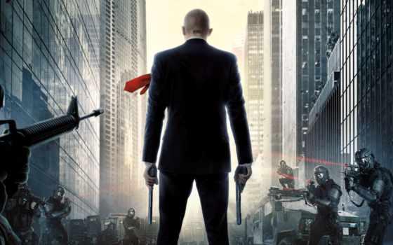 hitman, агент, сниматься, видеоигры, убийца, наемник,