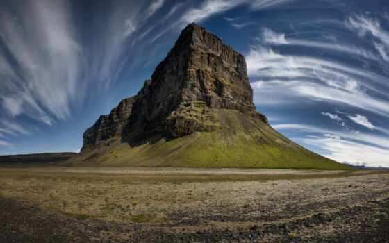 wispy, dimension, гора, hill, природа, облако, браун, landscape, black