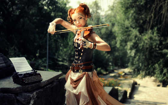 линдси, stirling, lindsey, скрипачка, скрипка, ago, со, девушка,