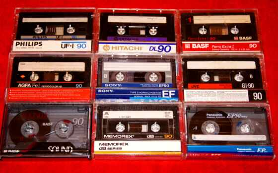 ностальгия, ретро, кассет, пост, музыка, касета, лес, фотографии, графика,