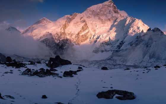 горы, фото, пейзажи -