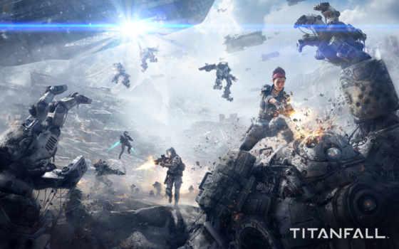titanfall, скриншот, video