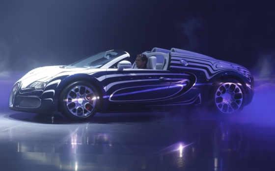 спорт, bugatti, veyron, grand, суперкар, blanc,
