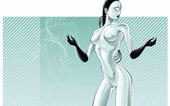 робот, ню, голая, эротика