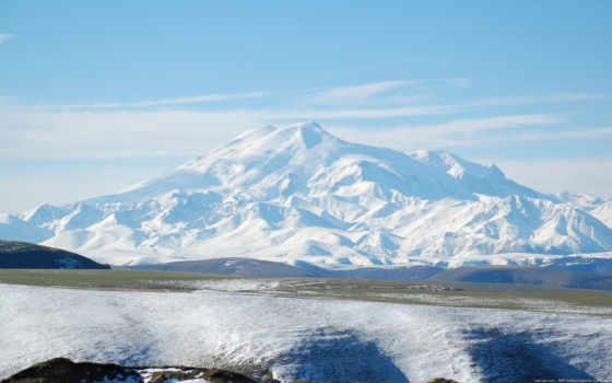 эльбрус, гора, горы