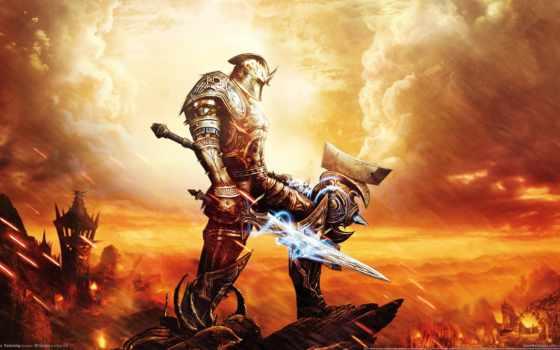 amalur, kingdoms, reckoning, ea, воин,
