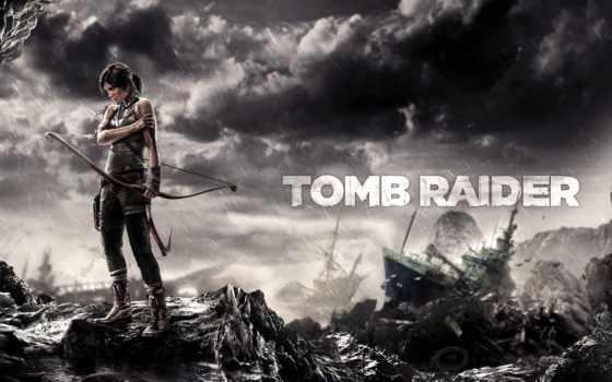 tomb, raider, game, лара, croft, девушка,